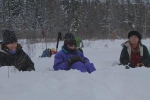 St. Johnsbury winter warriors huddled in the snow